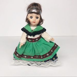 Vintage Costume Ginny Type Doll made in Hong Kong